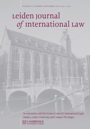 Leiden Journal of International Law